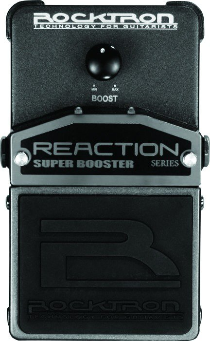 ROCKTRON / REACTION SUPER BOOSTER/Педаль эффектов BOOSTER