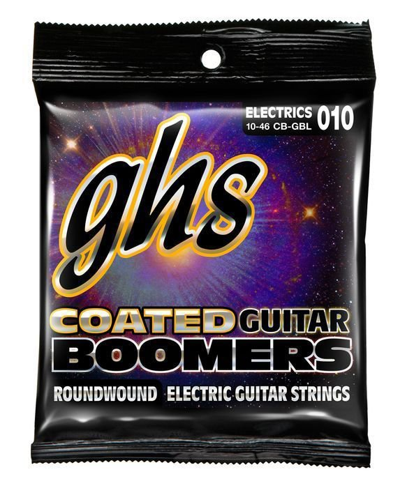 GHS Corporation / CB-GBL/Струны для электрогитары; (10-13-17-26-36-46); Coated Boomers/GHS