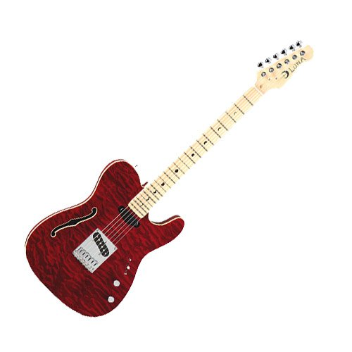 DEAN / DECO TLE RED/Электрогитара Deco Semi-Hollow - Red/LUNA