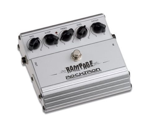 ROCKTRON / RAMPAGE DISTORTION/Педаль эффектов DISTORTION; +75дБ gain