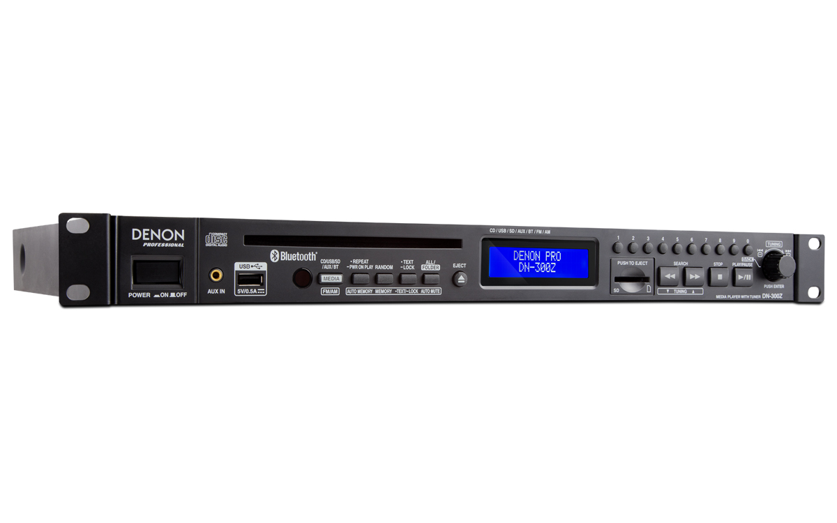 K-ARRAY / DN-300ZB / CD/USB/SD проигрыватель, Bluetooth, AM/FM тюнер / DENON
